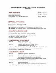 Best Resume In Word by Free Basic Resume Sample Resume123