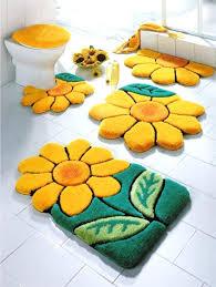 Walmart Bathroom Rug Sets Bath Rug Set Impressive Design Bathroom Rugs Set Yellow Medium