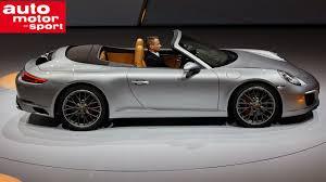 porsche 911 facelift porsche 911 facelift iaa 2015