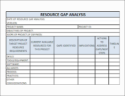 Analysis Template Excel Analysis Analysis Template
