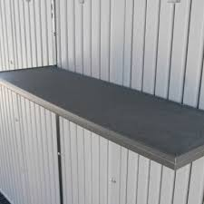 Free Standing Shed Shelves by 8 X 12 5 Ft Outdoor Storage Shed
