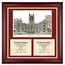 college diploma frame boston college diploma frames by school diploma frame co
