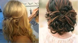 wedding guest hair half up half down for short hair salon