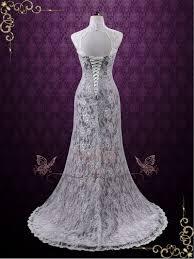 purple wedding dress vintage purple lace wedding dress with keyhole back ieie