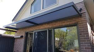 Building An Awning Over A Door Slimline Awnings Over Sliding Door Eco Awnings