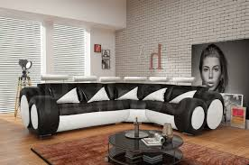Black Corner Sofas Black Leather Corner Sofas Extravagant Home Design