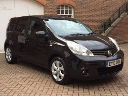 nissan note 2010 nissan note n tec facelifted model 2010 10 reg automatic black