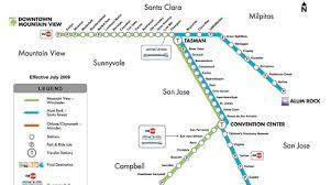 san jose light rail map greener grass episode 7 transportation proclamation athletics nation