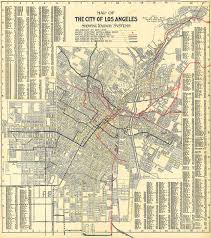 San Francisco Streetcar Map 1906 Railway Systems Of Los Angeles U2013 Transit Maps Store