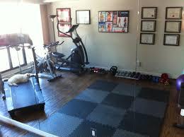 small space exercise equipment interior design ideas