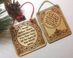 lord of the rings ornament etsy