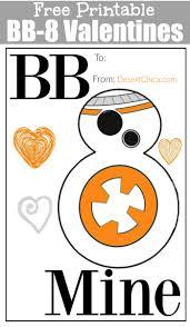 free star wars bb 8 valentines desert chica