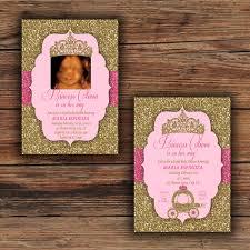 royal princess baby shower ideas gold glitter blush pink baby shower invitations royal princess