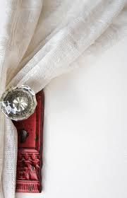 Drapery Knobs Removing Closet Doors Curtain Ties Door Knobs And Doors