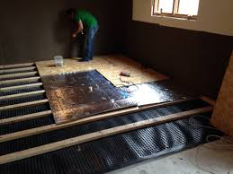 Basement Subfloor Systems - ideas insulate basement floor plastic subfloor for basement