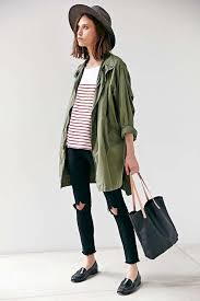 Urban Style Clothing For Women - 15 ways to wear a green army jacket le fashion green shirt