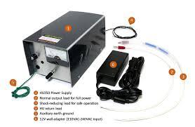 High Voltage Bench Power Supply - power supplies high voltage dc