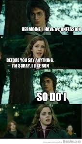 Dirty Meme Jokes - horny harry hilarious harry potter memes that make hermoine