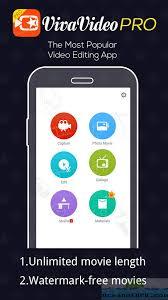 app apk free vivavideo pro editor apk free