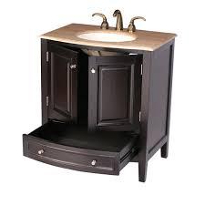 32 naomi bathroom vanity single sink cabinet espresso finish 32