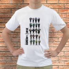 siege i size rainbow six siege chibis s t shirt white size s m l xl 2xl