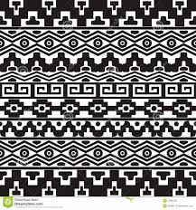 seamless pattern with aztec ornaments stock vector image 54802161