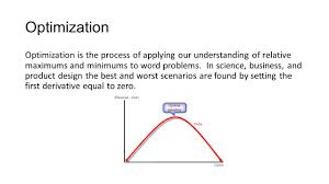 Calculus Optimization Word Problems Worksheet Chapter 3 U2013 Spring Ppt Video Online Download