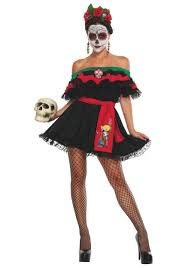 kim davis halloween mask muerta sugar skull costume senorita of death costume dia de