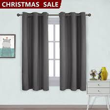 Grommet Top Blackout Curtains Nicetown Grommet Top Blackout Curtains For Bedroom 2 Panels W42