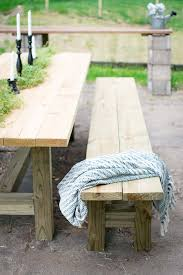 Diy Patio Bench by Diy Outdoor Bench The Weathered Fox