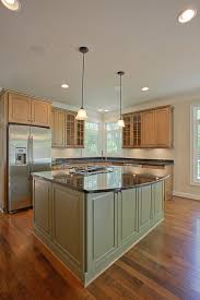kitchen island colors with wood cabinets with your kitchen how to choose a different color