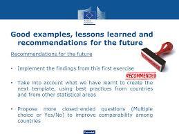eurostat quality reporting on energy statistics framework and