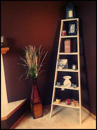 Corner Ladder Bookcase Bookshelf Corner Ladder Shelf White With Corner Ladder Bookshelf