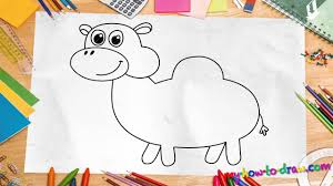 how to draw a camel easy step by step drawing lessons for kids