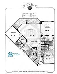 seychelles daytona beach floor plans