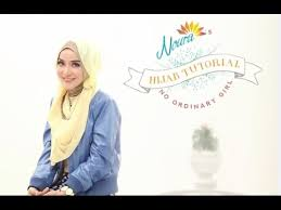 tutorial hijab noura tutorial hijab no ordinary girl by ussiy noura youtube