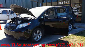 parting out 2012 toyota sienna stock 3067br tls auto recycling