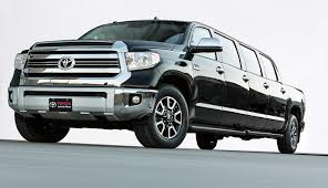 toyota trucks usa tundrasine stretches definition of pickup and limousine