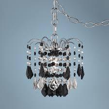 Plug In Crystal Chandelier Plug In Swag Chandelier Home Furniture