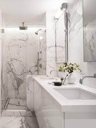 Marble Bathroom Ideas White Marble Bathroom Houzz Intended For White Marble Bathroom