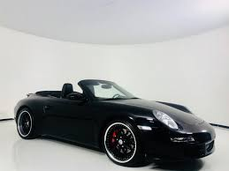 black porsche convertible 2006 porsche 911 carrera s navigation hre wheels red calipers