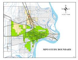 Memphis Map West Memphis Mpo Maps