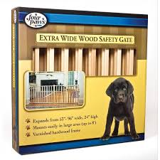 Large Pressure Mounted Baby Gate Extra Wide Wood Slat Pet Gate 53 96 Inch Dog Products Gregrobert