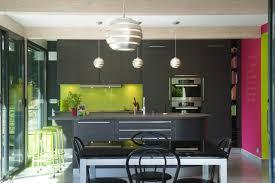 la cuisine dans le bain cuisine armony nature et colorée contemporary kitchen