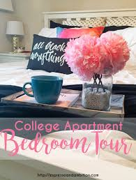 apartment bedroom tour espresso and ambition