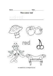 color black worksheets for kindergarten color best free