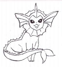 martini drawing eeveelution vaporeon by alfred martini pines on deviantart