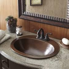 Drop In Sink Bathroom Bathroom Sink Marvelous Sinkology Seville Drop In Copper Bath
