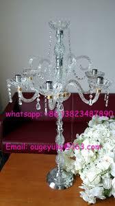 Cheap Candelabra Centerpieces Tall Wedding Candelabra Centerpieces Glass Candelabra For Table