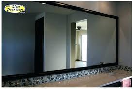 black framed bathroom mirrors black framed bathroom mirror sebastianwaldejer com